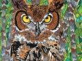 Great Horned Owl 3 by Sharon T Ross 2016
