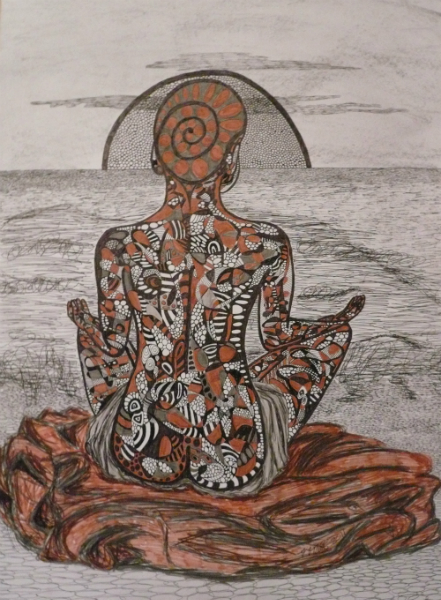 inner-peace-2011-pen-ink-and-graphite-on-250gsm-paper-42x60cm2