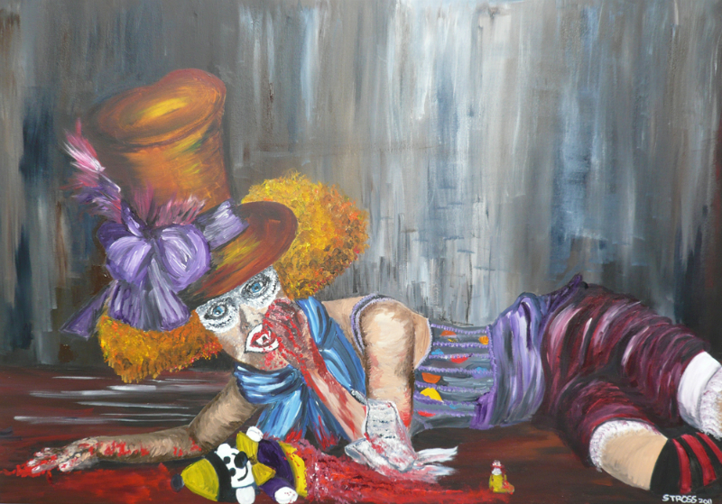 scary-halloween-queen-sharon-t-ross-2011-acrylics-on-canvas-90-x-130cm-r